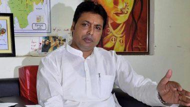 Tripura CM Biplab Deb's Wife Niti Files for Divorce in New Delhi