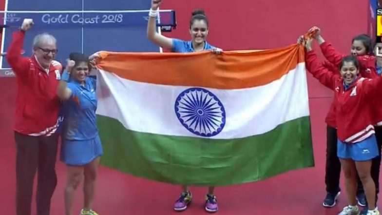 Commonwealth Games: Manika Batra leads India to historic women TT gold