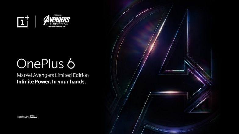 OnePlus 6 x Marvel Avengers Limited Edition Launching on May 17; To be Sold Exclusively in India only on Amazon