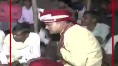 Uttar Pradesh: Gun Firing For 'Fun' Leaves Groom Shot Dead at Wedding in Lakhimpur, Watch Horrific Video