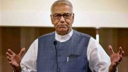 Yashwant Sinha Allowed to Enter Srinagar by Jammu & Kashmir Administration, Likely to Meet Farooq Abdullah, Other Detained Leaders