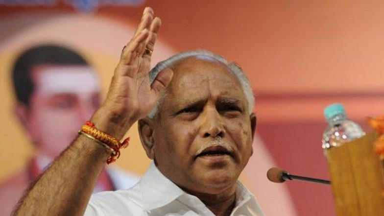 Yedurappa's son not contesting in 12 May elections