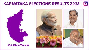 Karnataka Assembly Election 2018 Results Live News Updates