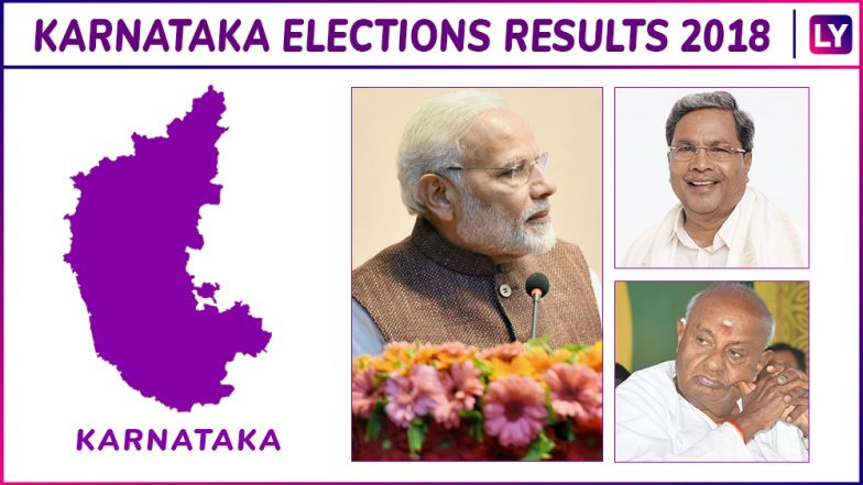 Karnataka Assembly Election 2018 Results Live on eciresults.nic.in: Check Seat-wise Counting & Results on Election Commission of India Official Website