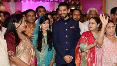 Tej Pratap Yadav-Aishwarya Rai Wedding: Political Stars Gather as Lalu Prasad Yadav's Son Ties The Knot