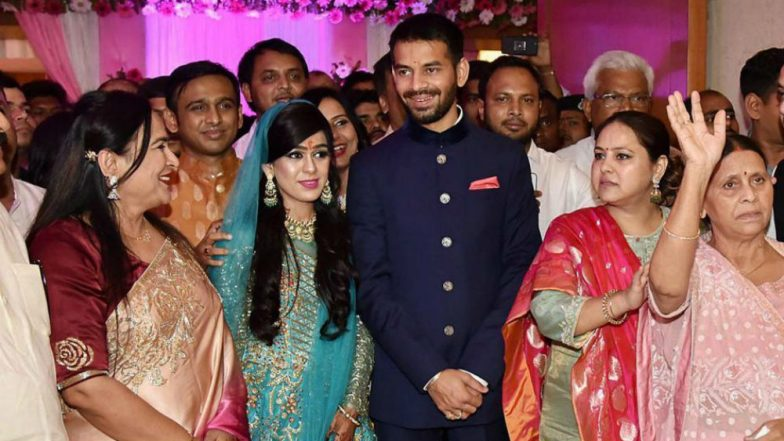 Tej Pratap Yadav-Aishwarya Rai Wedding: Political Stars Gather as Lalu Prasad Yadav's Son Ties The Knot