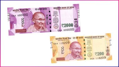 You Cannot Exchange Rs 200 & Rs 2,000 Notes? Torn & Mutilated Currency May Become Impossible to Get Exchanged in RBI & Banks
