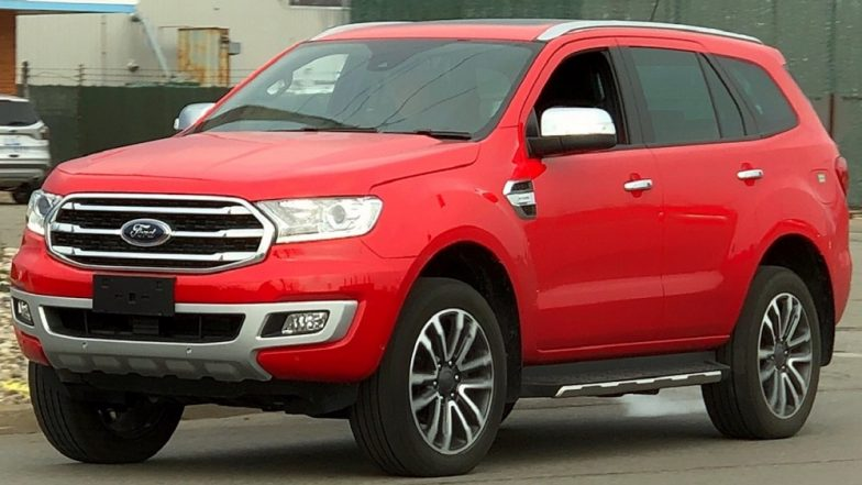 New Ford Endeavour Facelift India Launch Likely by 2019; Expected Price, Features, Specifications & Other Details of the SUV