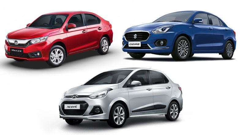 Comparison: 2018 Honda Amaze Vs Hyundai Xcent Vs Maruti Dzire; Price in India, Specifications & Features