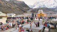 Uttarakhand Rains: 2,000 Pilgrims Stranded in Kedarnath Amid Heavy Rainfall Rescued, Taken to Safer Places