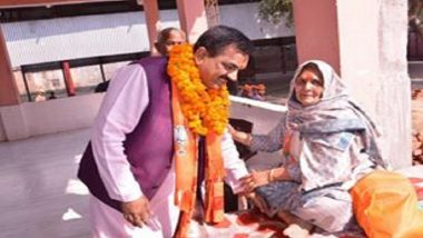 After Sikh Police Officer Gagandeep Singh's Heroic, BJP MLA Rajkumar Thukral Questions Muslim Youth's Presence in Garjia Devi Temple