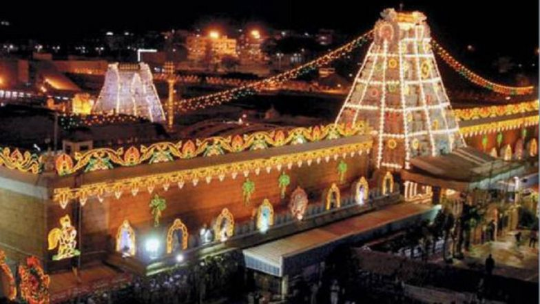 Tirupati: TDP Alleges Centre of Trying to Gain Control on Venkateshwar Temple