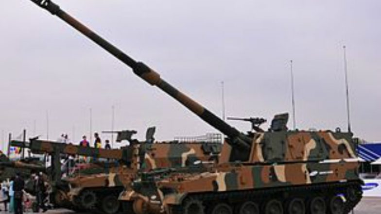 Made in Gujarat Howitzer: Indian Army to Receive First Batch of Desi' Guns in June, Named as K9 Vajra-T