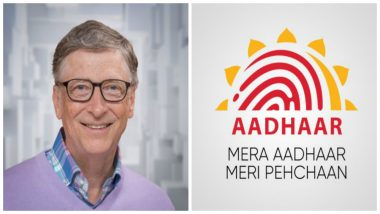 Aadhaar Gets Thumps Up from Bill Gates: Microsoft Founder Says UIDAI Will be Helpful