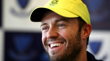 PSL 2019: In a Video Message Lahore Qalandars Batsman AB de Villiers Confirms He Will Travel to Pakistan