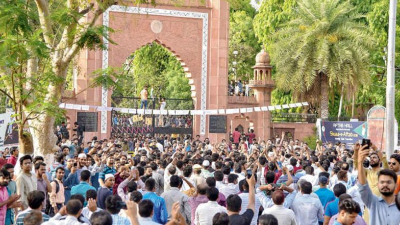 Muhammad Ali Jinnah Portrait Row Aligarh Muslim University Postpones Examinations Till May 12