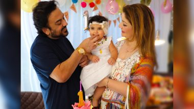 Adnan Sami Shares Pictures of His Daughter Medina's First Birthday with This Emotional Post