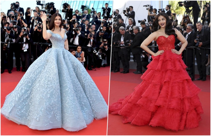 Aishwarya Rai Bachchan Cannes 2017 red carpet