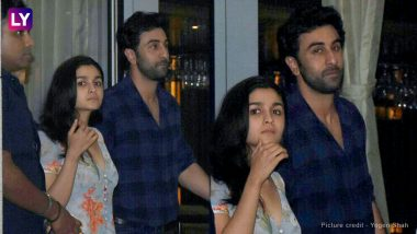 Alia Bhatt and Ranbir Kapoor Left In The Same Car After Enjoying Secret Night Out-View Pics!