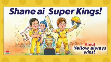 Latest Amul Topical on CSK's IPL 2018 Title Win Is Bang On