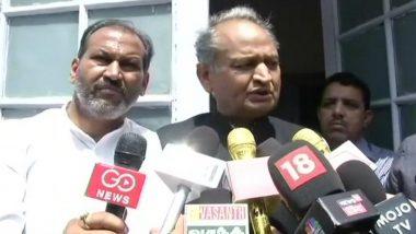 Rajasthan: Vasundhara Raje Was 'Careless' in Fulfilling People's Expectations, Says Ashok Gehlot