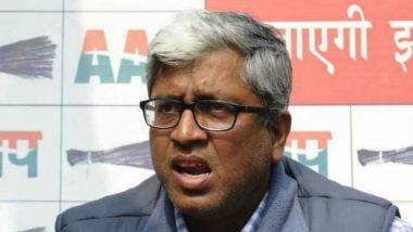 AAP Leader Ashutosh Makes 'Vulgar' Statements Against Mahatma Gandhi, Atal Bihari Vajpayee and Jawaharlal Nehru; FIR Registered