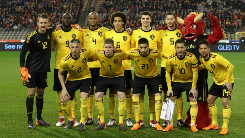bfb7ae23991 Belgium Lineup for 2018 FIFA World Cup  Squad