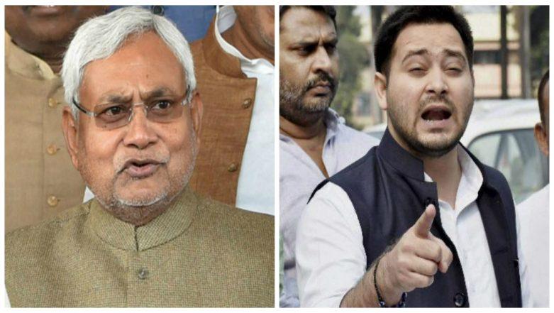 BJP Slams Tejashwi Yadav for Use of Foul Language Against Nitish Kumar on Twitter