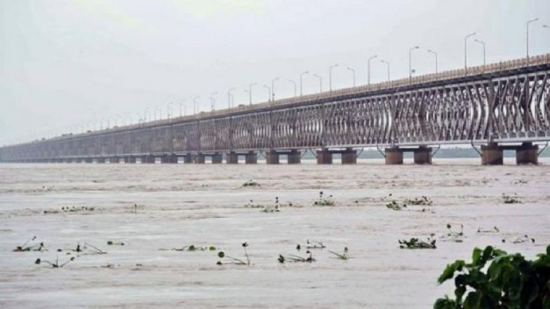 India's Longest Rail Road Bridge Will Be Bogibeel Double-Decker Bridge Over Brahmaputra River! To Be Opened by This Year
