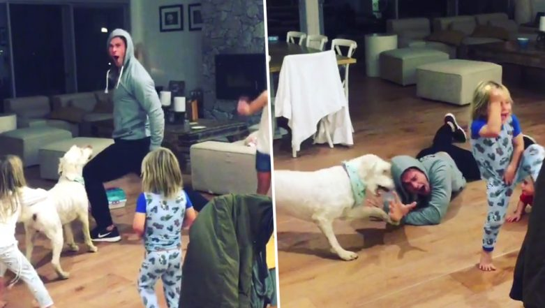Chris Hemsworth and His Kids Dancing to Miley Cyrus' Wrecking Ball Is the Best Thing You'll Watch Today!