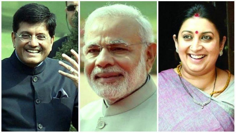 PM Modi Government Cabinet Reshuffle 2018: Piyush Goyal Given Charge of Finance Ministry, Smriti Irani Dropped As I & B Minister Among Other Changes