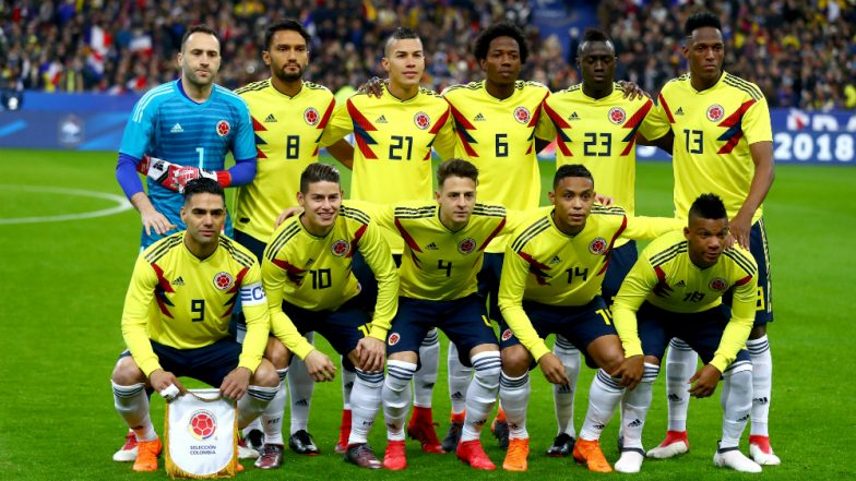 Colombia Squad for 2018 FIFA World Cup in Russia  Lineup fcbe5b219