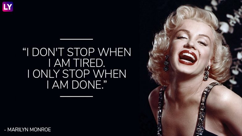 Citaten Van Marilyn Monroe : Marilyn monroe birth anniversary special of the sassiest quotes
