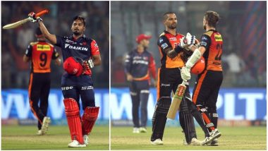 DD vs SRH Video Highlights IPL 2018: Rishabh Pant's Ton in Vain as SunRisers Hyderabad Thrash Delhi Daredevils by 9 Wickets