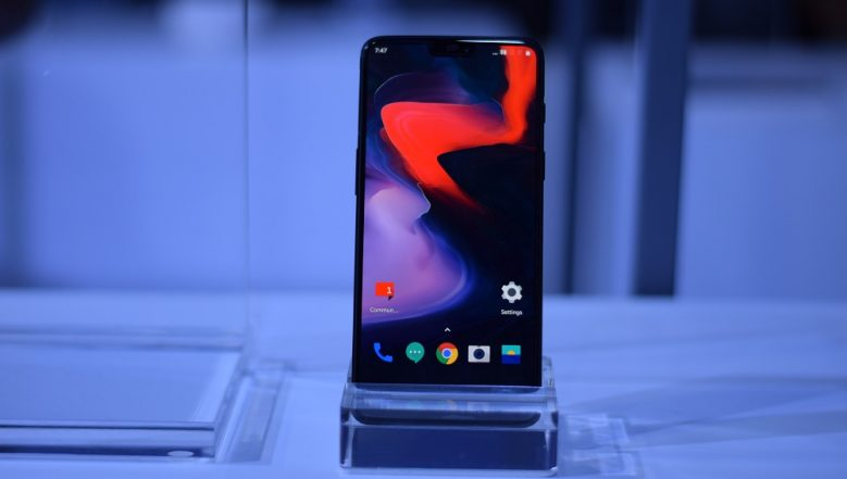 OnePlus 6 Starts Receiving Android Pie 9.0 OS Update Ahead of OnePlus 6T Launch