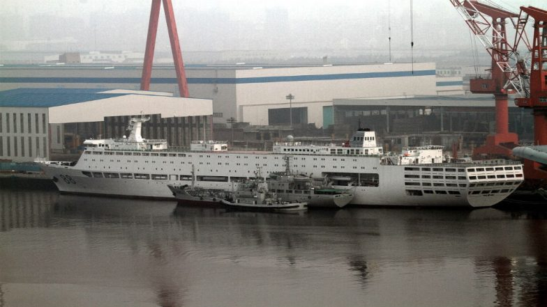 China's First Indigenously Built Aircraft Carrier Starts Sea Trials