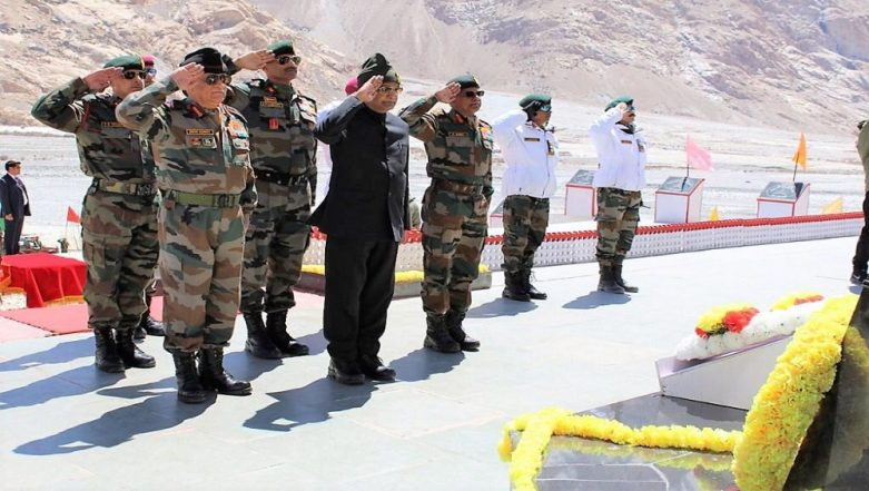 President Kovind Visits Siachen Base Camp; Appreciates Soldiers' Effort in Serving in Harsh Conditions