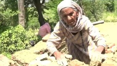 Jammu and Kashmir: 87-Year-Old Woman From Udhampur Makes a Toilet Near House to Make Her Village Open-Defecation Free