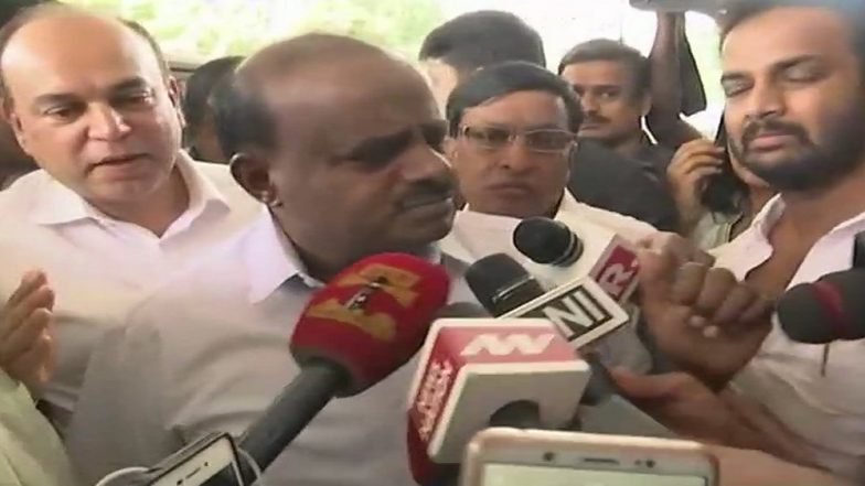 Congress' Proposal Accepted, BJP Rejected! We Have Decided to go With Congress, Says HD Kumaraswamy
