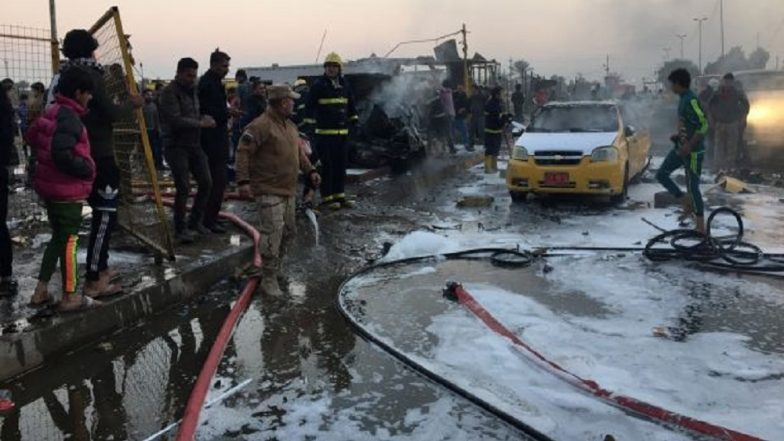 8 killed, dozens injured as bomb explosion hits funeral near Iraq's Baghdad