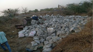 Gujarat: 19 Killed, 7 Injured After Cement Laden Truck Turns Turtle on Bhavnagar-Ahmedabad Highway