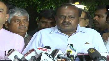 HD Kumaraswamy's Swearing-in Live Streaming: Watch JD(S) Leader Taking Oath as Karnataka Chief Minister Here on TV9 Kannada