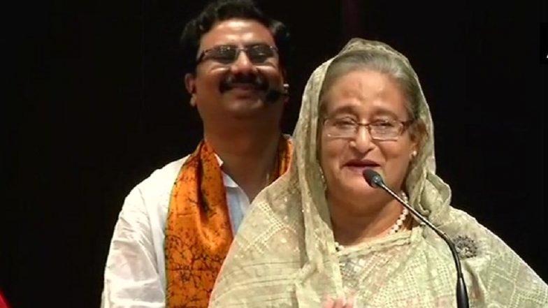 Bangladesh PM Sheikh Hasina Asks for India's Help to Resolve Rohingya Issue at Shantiniketan