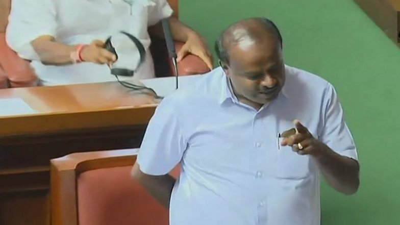 Chief Minister HD Kumaraswamy Wins Floor Test in Karnataka's Vidhana Soudha