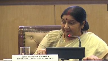 Sushma Swaraj Conveys Stern Message to China Over Doklam; No Change in Status Quo