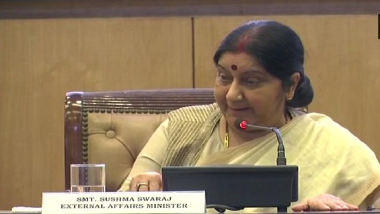 Sushma Swaraj Conveys Stern Message to China Over Doklam; No Change in Status Quo