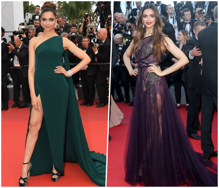 Deepika shines in gold; Kangana is at her sartorial best at Cannes