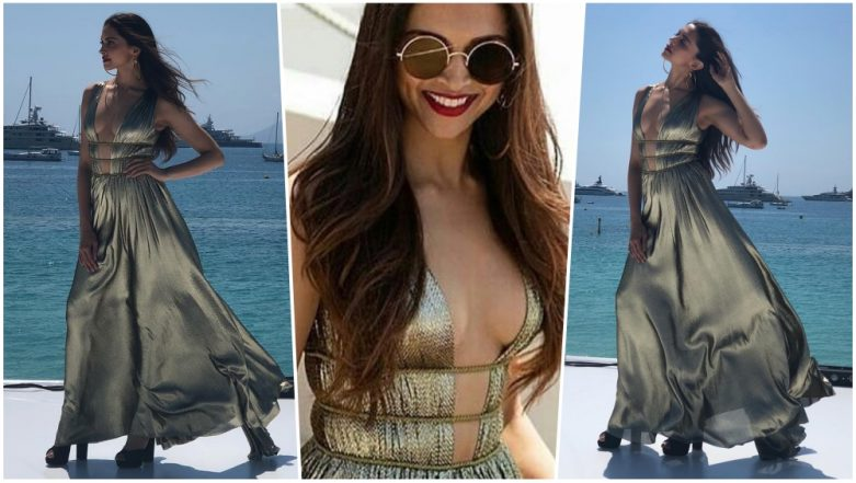 Deepika Padukone is a Beauty To Behold in Alberta Ferretti Dress at the French Riviera, Check New Photos of Actress at Cannes 2018!
