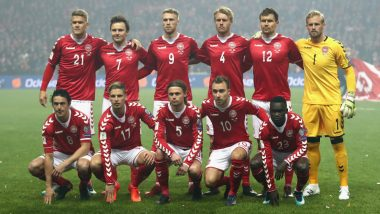Denmark Squad for 2018 FIFA World Cup in Russia: Lineup, Team Details, Road to Qualification & Players to Watch Out for in Football WC