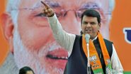 Maharashtra Assembly Election Results 2019: Devendra Fadnavis Confident of Win in 220+ Seats For BJP-Shiv Sena, Opposition Firm on Ousting Him